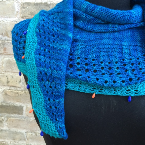 Summer in Angers Shawl
