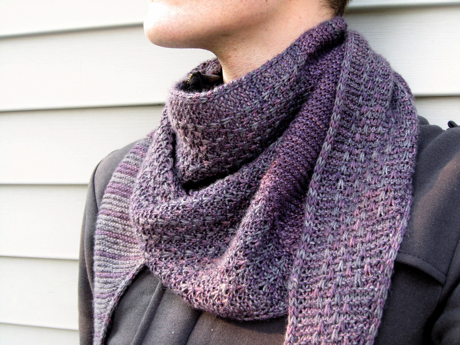 Free Knitting Patterns For Sock Weight Yarn : sweater Dark Matter Knits