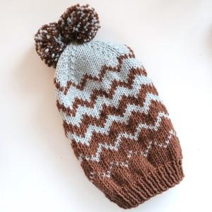 Zig Zag Chevron Hat