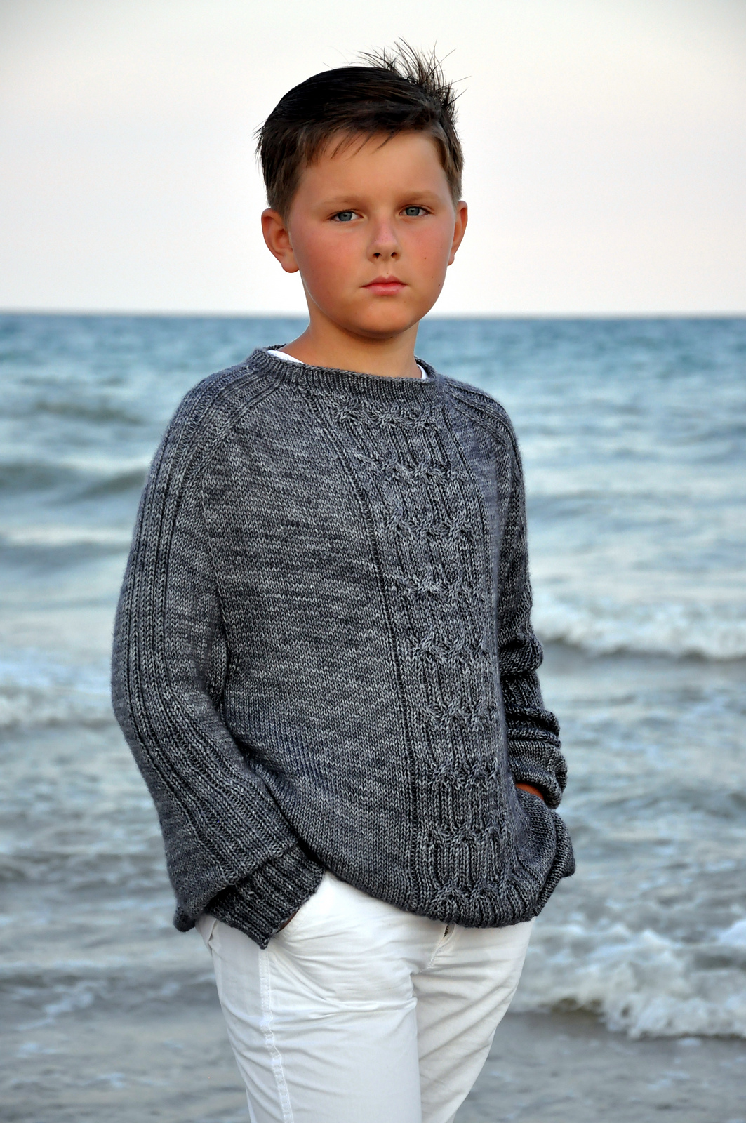 Knitting Pattern Sweater Boy : boys  knitting patterns Dark Matter Knits