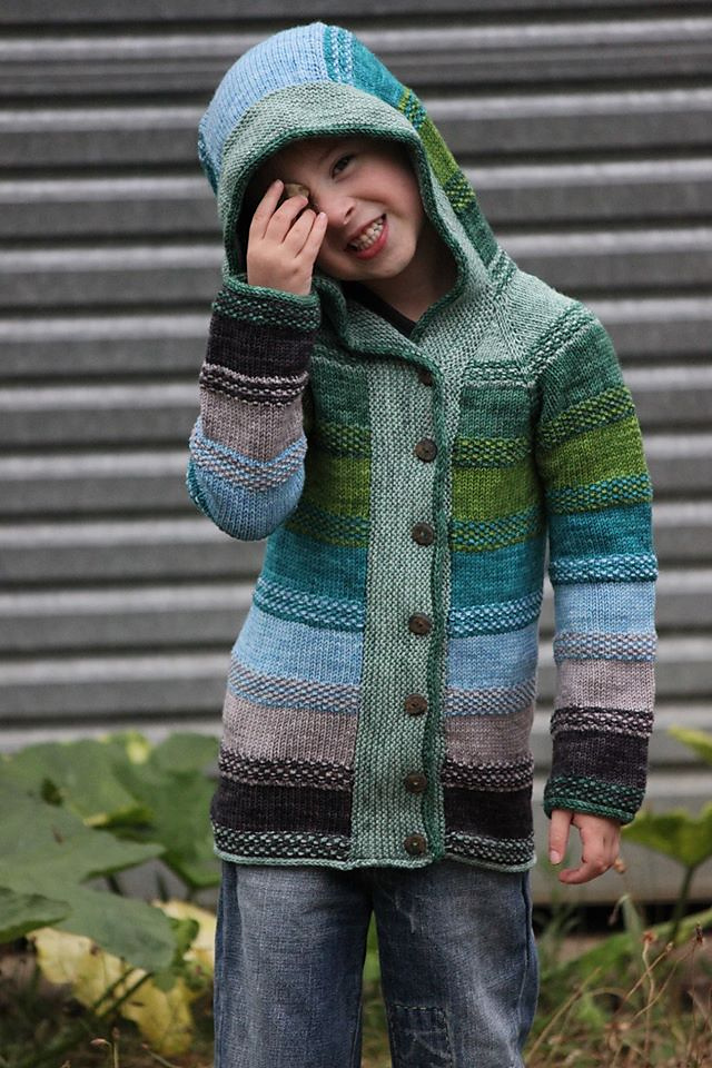 Crazy 8 Boys Patterned Shawl Collar Sweater